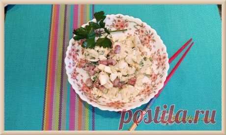 Салат из цветной капусты быстро и вкусно и для диеты, и на каждый