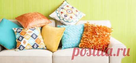 Декоративные подушки своими руками: фото, пошаговый мастер-класс