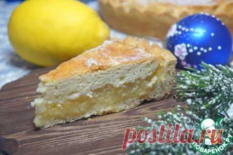 Нежный лимонный пирог – кулинарный рецепт