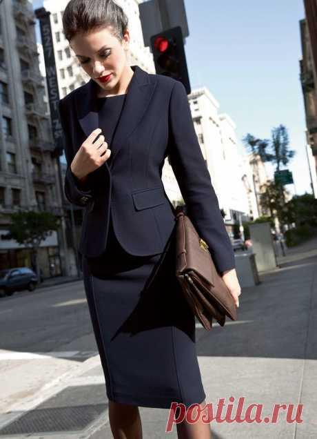 Стильно одеваемся в офис (50 образов)   Я леди   Яндекс Дзен