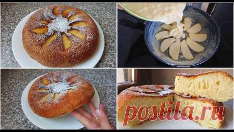 Шарлотка на сковороде от Ольги Лунгу: