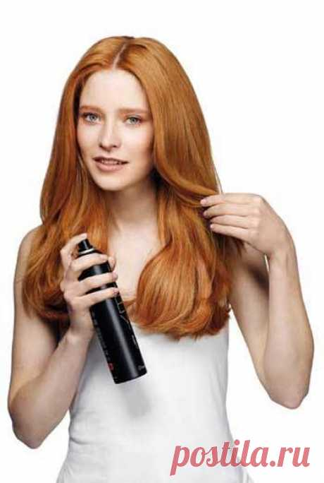 """How to make hairspray. It is useful for women who prefer \""""natural\"""" cosmetics to know how it is possible to make hairspray own forces."""