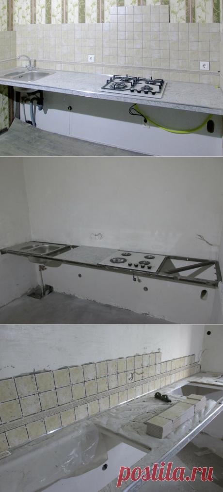 Как сделать прочный и практичный кухонный стол — Правильные идеи ремонта