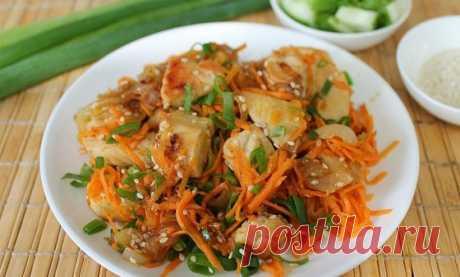 Курица с морковью по-корейски — Sloosh – кулинарные рецепты