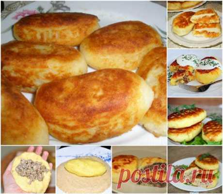Зразы из картофеля - лучшие рецепты - Перчинка хозяюшка