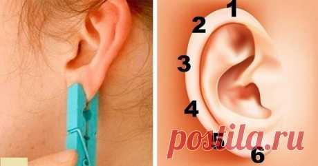 Профилактическое лечение при помощи прищепки на ухе