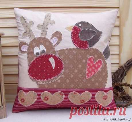 Декоративные подушки на любой вкус. Идеи для вдохновения! | Интересные идеи для вдохновения