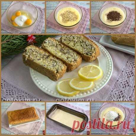 Овсяный кекс с семенами льна