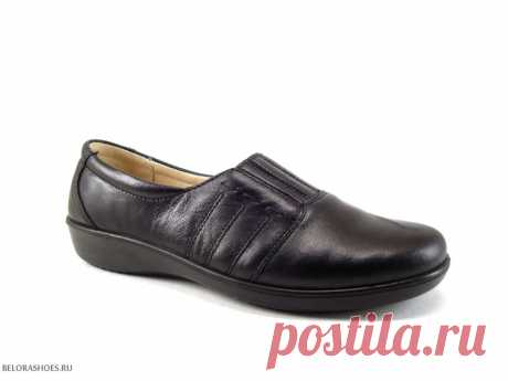 Полуботинки женские Росвест 640 Легкие и удобные женские туфли на ровной подошве