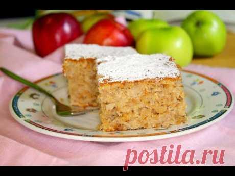 Простой рецепт яблочного пирога с ореховой начинкой покорил мое сердце. | вкусно#смачно | Яндекс Дзен