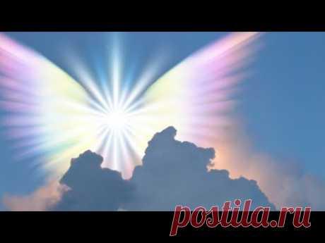 """""""Нежное прикосновение Ангела"""". Целебная музыка, наполняющая чистой светлой энергией - YouTube"""