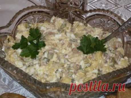 Салат «Гостинный двор» — прекрасная альтернатива салату Оливье - Счастливый формат