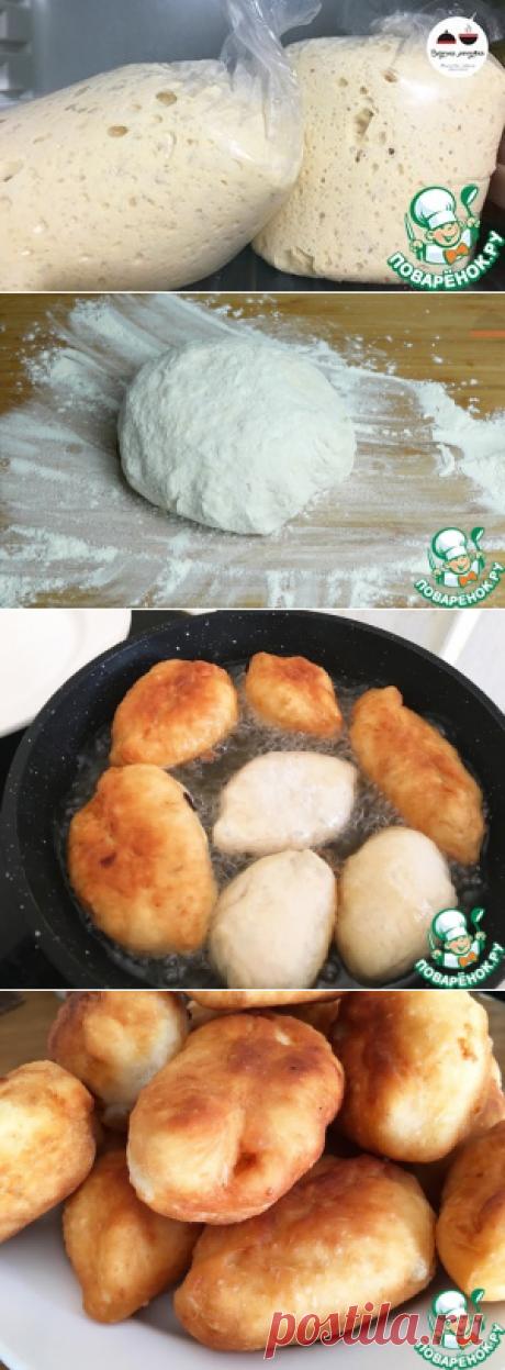 """Дрожжевое тесто """"Для ленивых"""" - кулинарный рецепт"""