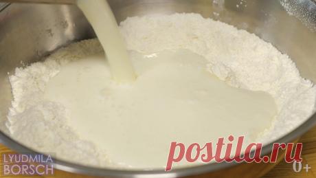 Нашла идеальный рецепт теста. Всего то нужно немного муки, кефира и творога. Пирожки нежнее облака за 20 минут. | Вкусный рецепт от Людмилы Борщ | Яндекс Дзен