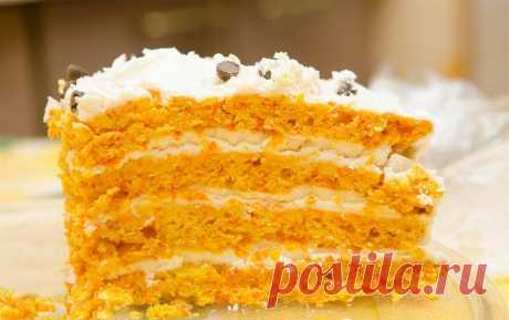 Морковный торт. Пальчики оближешь! Здравствуйте, дорогие любители кулинарии! Сегодня у меня для вас вкусный десерт, который приготовлен из полезного овоща, а именно из моркови. И готовить мы будем морковный торт, который я очень люблю.