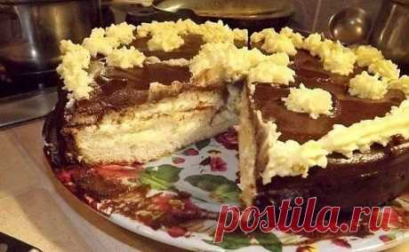 Торт Чародейка (быстрый вариант).