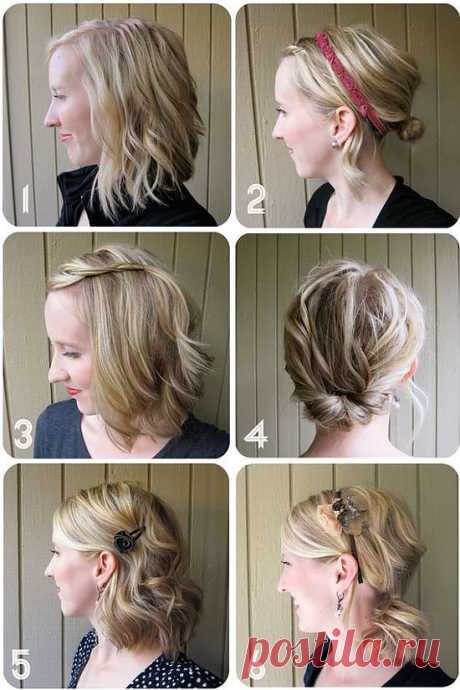 Excellent hairdresses for hair of average length: be different!