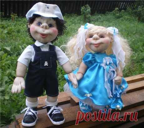 Мастер-классы и описания кукол и игрушку из капрона