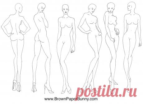 BrownPaperBunny_Croquis.png (1600×1158)