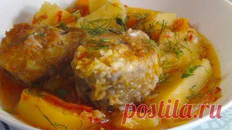Рагу с рыбой и овощами- очень вкусно и сытно (Stew with fish and vegetables) - YouTube