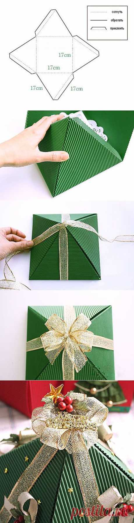 Новогодняя упаковка / Открытки и упаковка / PassionForum - мастер-классы по рукоделию
