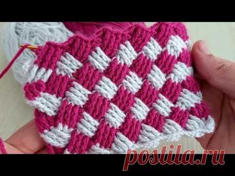Super Easy Crochet Knitting - Bu Modeli Cok Seveceksiniz Tığ İşi Yelek Battaniye Örgü Modeli