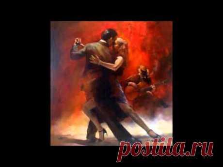 """Ретро-музыка. Старое военное и очень красивое танго """"Пусть дни проходят..."""""""