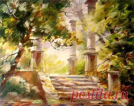Осень глазами Виктора Зелика