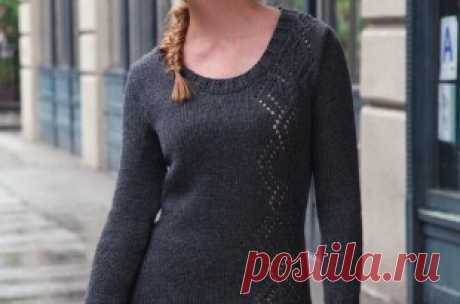 Свитера, пуловеры, кофты спицами и крючком: схемы и описания