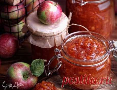 Яблочный мармелад. Ингредиенты: яблоки, сахар, уксус 9%