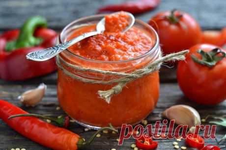 Простой рецепт бесподобного домашнего кетчупа на зиму