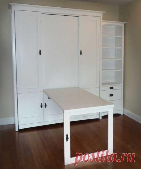 Как спрятать раскроечный стол
