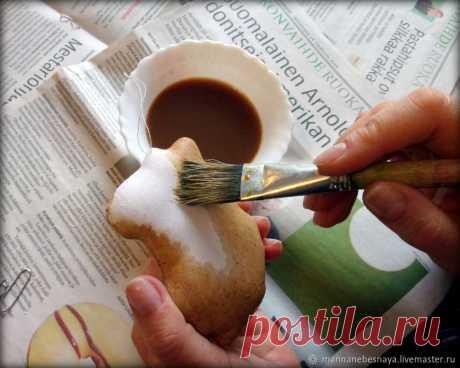 Кофейные игрушки — готовим, красим, запекаем | Журнал Ярмарки Мастеров