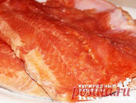 Малосольная красная рыба на молоке по-мурмански | Фоторецепт с подробным описанием от Харч.ру