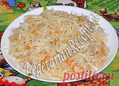 Вкусная хрустящая квашеная капуста в рассоле, рецепт с фото Квашеная капуста в рассоле получается вкусная и хрустящая! Рецепт с пошаговыми фотографиями.