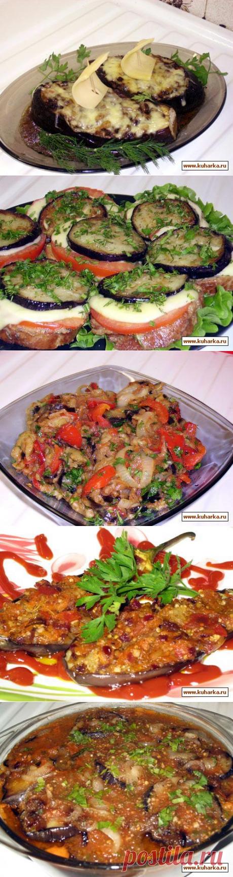 Eggplants dishes
