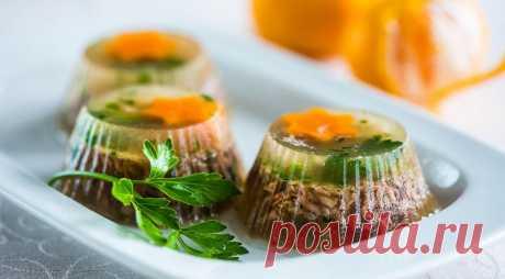 Холодец с желатином, пошаговый рецепт с фото