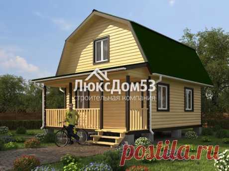 Проект Д-11 | «ЛюксДом 53» — строительство домов и бань