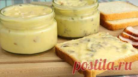 Плавленый сыр из творога с беконом и грибами за 20 минут – пошаговый рецепт с фотографиями