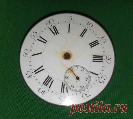 Часовой механизм с циферблатом. На запчасти.  Диаметр : 42 мм.   Цена : 400 руб.   Купить сейчас :   #ЧасовойМеханизмЦиферблатом #ЧасовойМеханизмЗапчасти