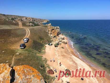 Велопоход по Крыму: пляжи, змеи, вулканы: mono_polist — LiveJournal Грязевые вулканы, Генеральские пляжи