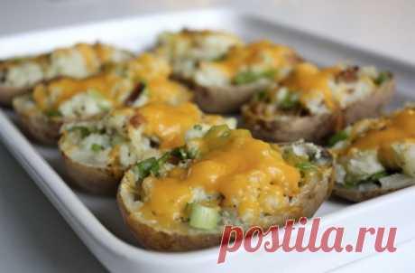 Печеная картошка с начинками: вкус запоминается и хочется еще . Милая Я