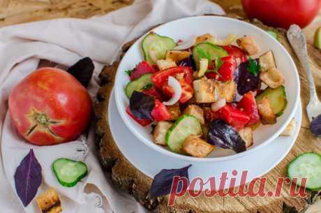 Панцанелла - невероятно вкусный тосканский салат