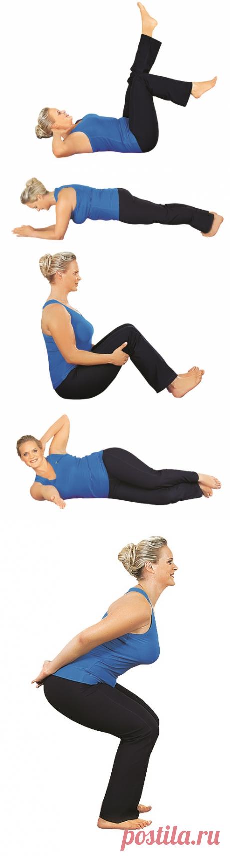 6 упражнений, которые изменят ваше тело (фото) – Lisa.ru