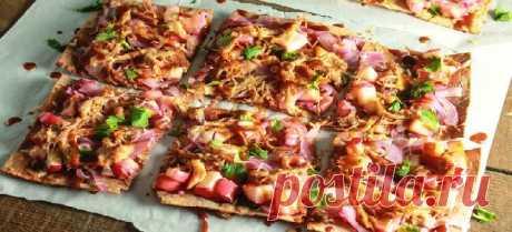 La pizza de lavasha
