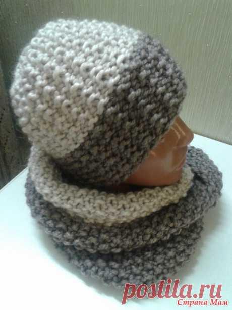 Зимний комплект (шапочка и снуд) - Вязание - Страна Мам