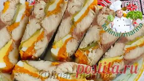 Рулет из скумбрии по-королевски | Roll of mackerel king