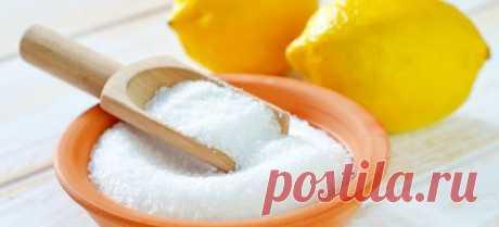 Как развести сухую лимонную кислоту | Четыре вкуса