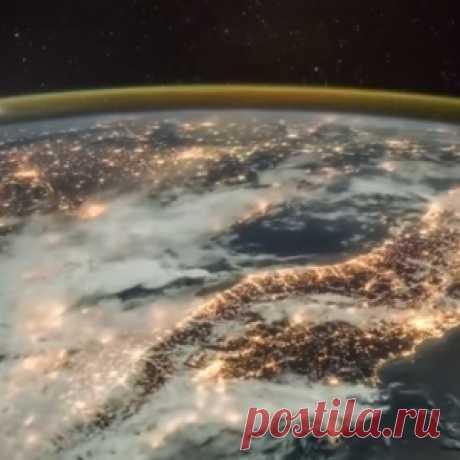 Грандиозное видео из космоса: как наступает рассвет на Земле - МирТесен