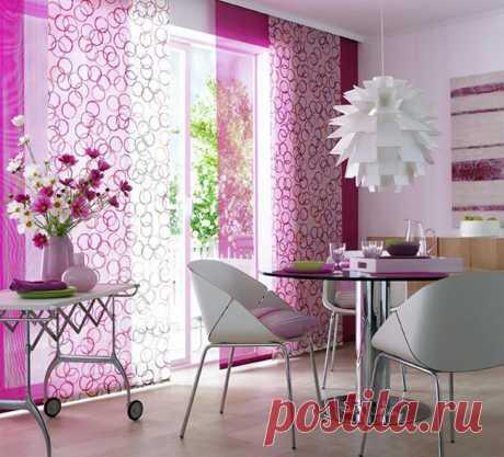 Преображаем интерьер стильными шторами | Роскошь и уют
